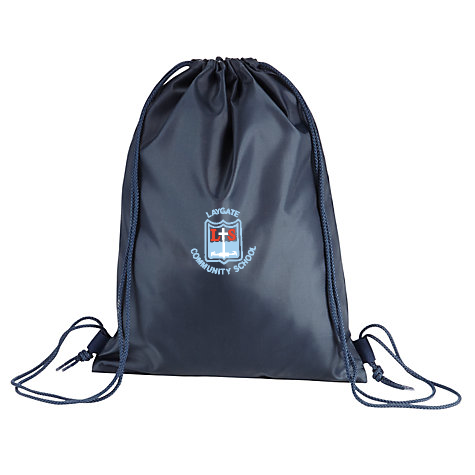 Laygate Community School Navy Gym Bag