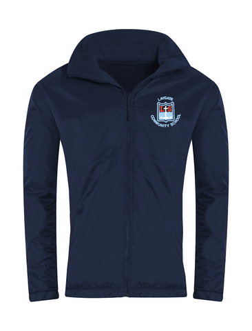Laygate Community School Navy Showerproof Jacket
