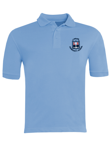 Laygate Community School Sky Blue Polo