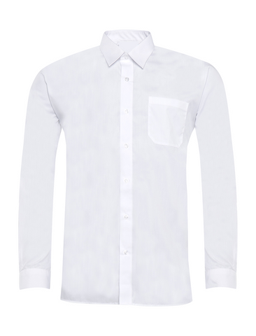 Pack of 2 Boys White Long Sleeve Shirts