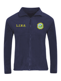 Lumley Infant & Nursery School Navy Fleece Jacket With Initials