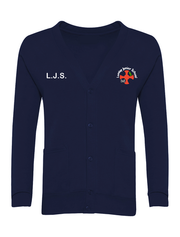Lumley Junior School Navy Cardigan