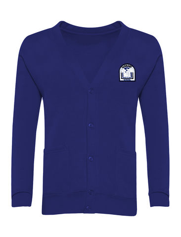 Marine Park Primary School Royal Blue Cardigan