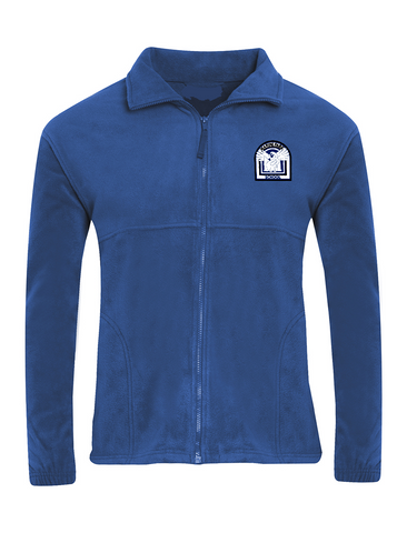 Marine Park Primary School Royal Blue Fleece Jacket