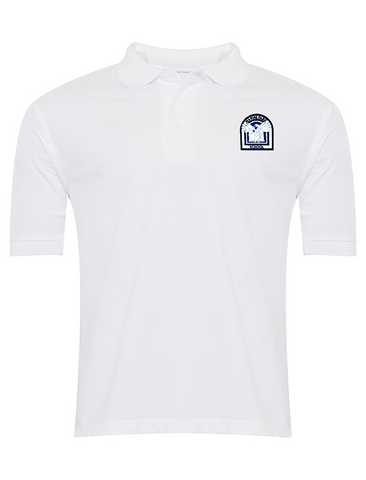 Marine Park Primary School White Polo