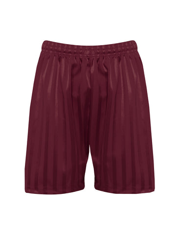 Thornhill School Maroon Boys P.E. Shorts