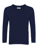 Navy Plain Cardigan