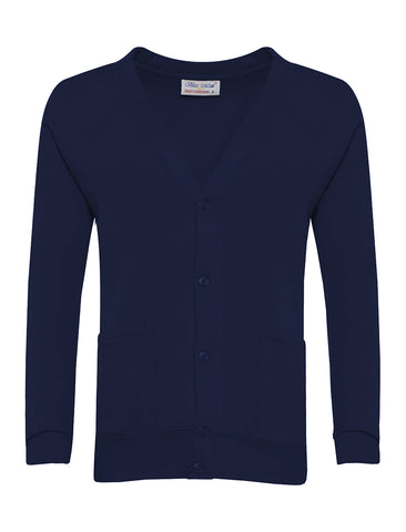 St John Boste R.C. Primary School Navy Cardigan