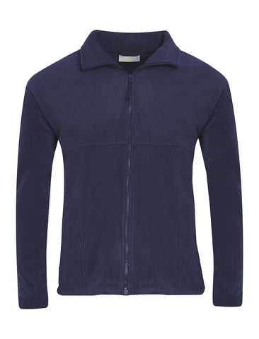 Valley Road Community Primary School Navy Fleece Jacket