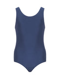 Plain Navy Girl's Swimming Costume