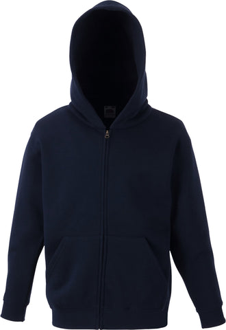 Valley Road Community Primary School Navy Zip Up Hoodie