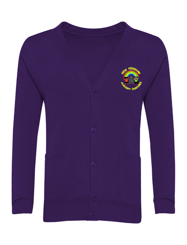 New Penshaw Academy Purple Cardigan
