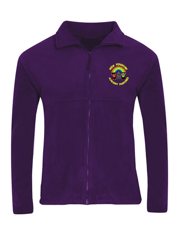 New Penshaw Academy Purple Fleece Jacket