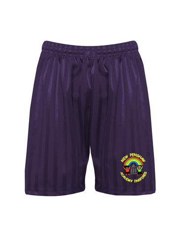 New Penshaw Academy Purple P.E. Shorts
