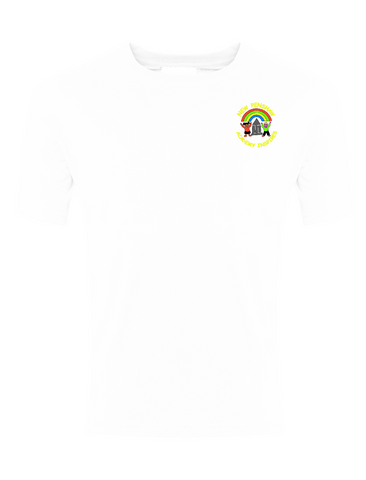 New Penshaw Academy White P.E. T-Shirt