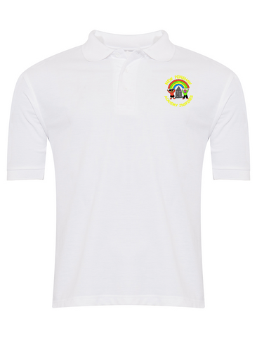 New Penshaw Academy White Polo