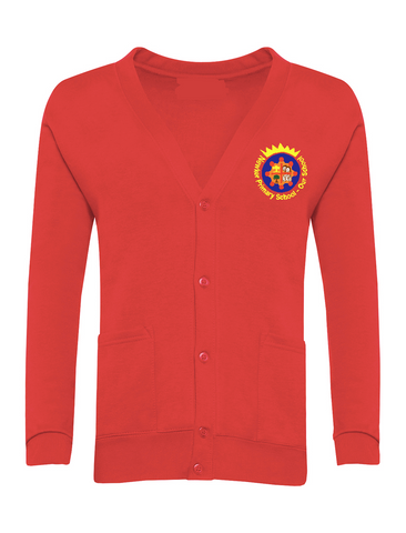 Newker Primary School Red Cardigan