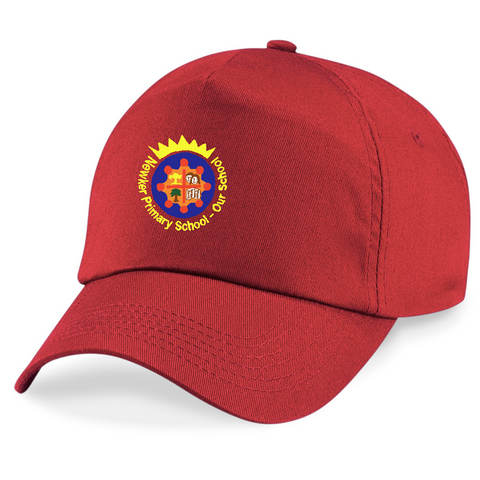 Newker Primary School Red Peaked Cap