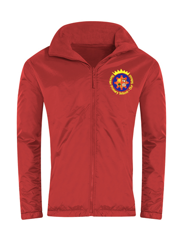 Newker Primary School Red Showerproof Jacket