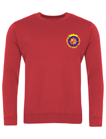 Newker Primary School Red Sweatshirt