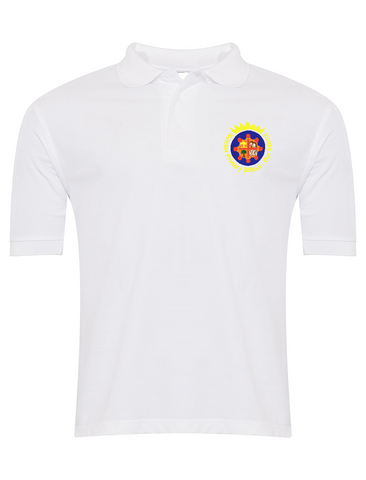 Newker Primary School White Polo