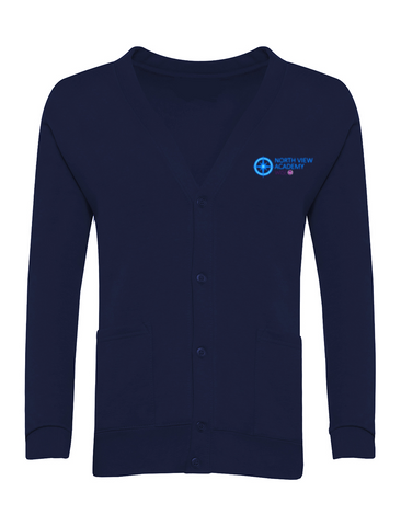 North View Academy Navy Cardigan