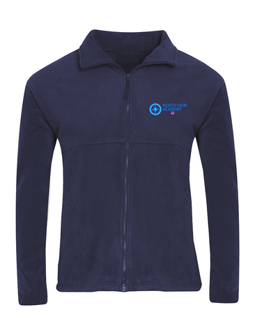 North View Academy Navy Fleece Jacket
