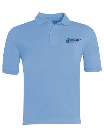 North View Academy Sky Blue Polo