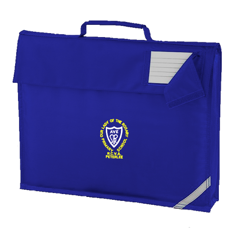 Our Lady of The Rosary R.C.V.A. Primary School - Peterlee Royal Blue Book Bag