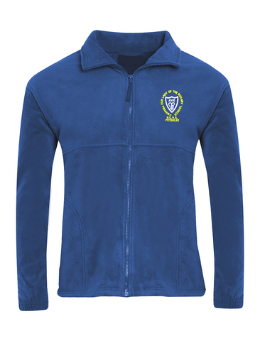 Our Lady Of The Rosary R.C.V.A. Primary School - Peterlee Royal Blue Fleece Jacket