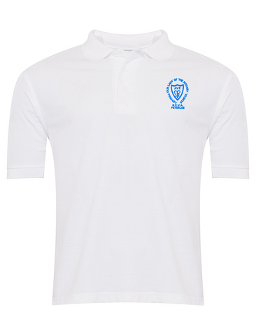 Our Lady Of The Rosary R.C.V.A. Primary School - Peterlee White Polo