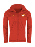 Our Lady Of The Rosary Rainbows Nursery Red Showerproof Jacket With Initials