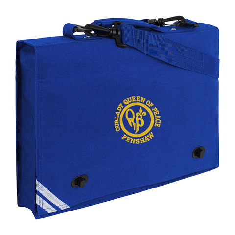 Our Lady Queen Of Peace Catholic School - Penshaw Royal Blue Document Case