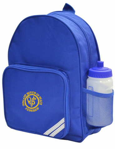 Our Lady Queen Of Peace Catholic School - Penshaw Royal Blue Infant Backpack