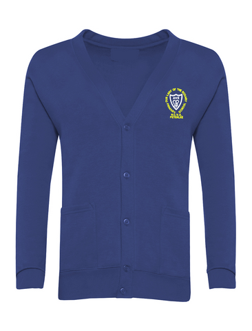 Our Lady Of The Rosary R.C.V.A. Primary School - Peterlee Royal Blue Cardigan