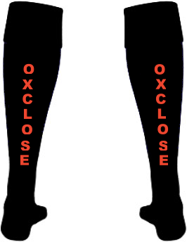 Oxclose Community Academy Back of Boys Football Socks