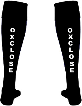 Oxclose Community Academy Back of Girls Football Socks
