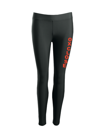 Oxclose Community Academy Black P.E. Sports Leggings