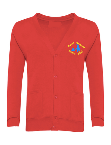Oxclose Community Nursery School Red Cardigan