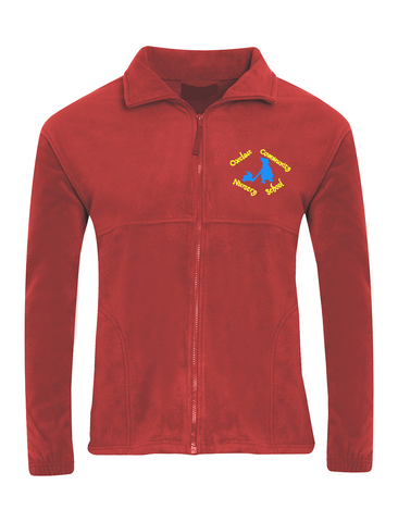 Oxclose Community Nursery School Red Fleece Jacket