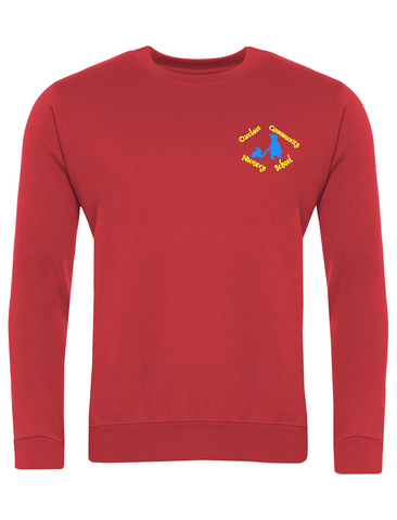 Oxclose Community Nursery School Red Sweatshirt