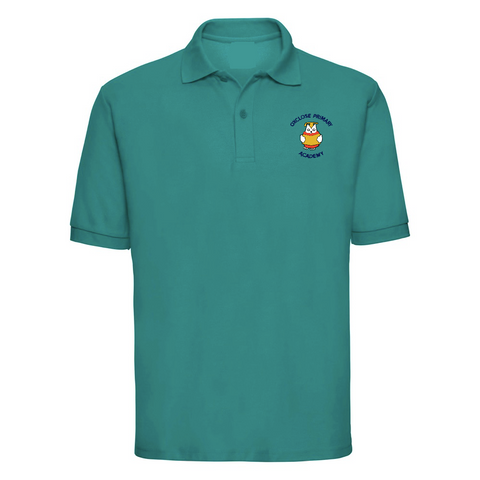 Oxclose Primary Academy Jade Green Polo