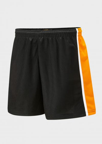 St Bede's Catholic Comprehensive School Black/Amber/White P.E. Short