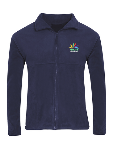 Portland Academy Navy Fleece Jacket