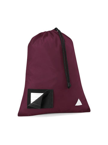 St Anne's R.C. Primary School Burgundy Gym Bag