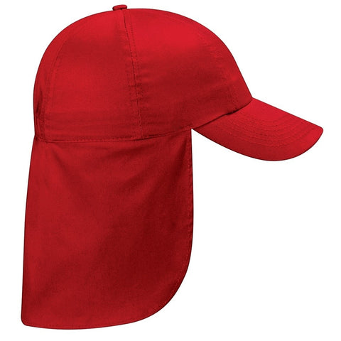 Newker Primary School Red Safari Peaked Cap