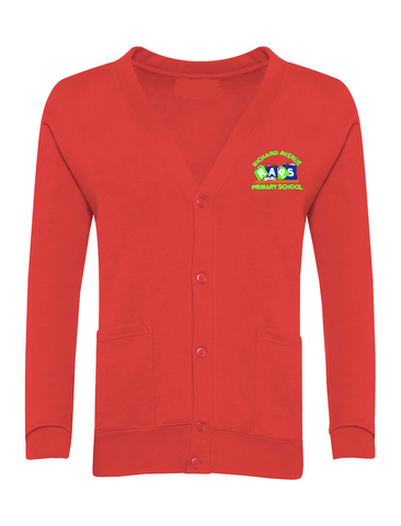 Richard Avenue Primary School Red Cardigan