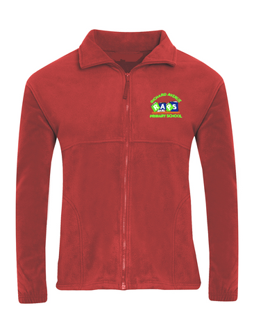 Richard Avenue Primary School Red Fleece Jacket