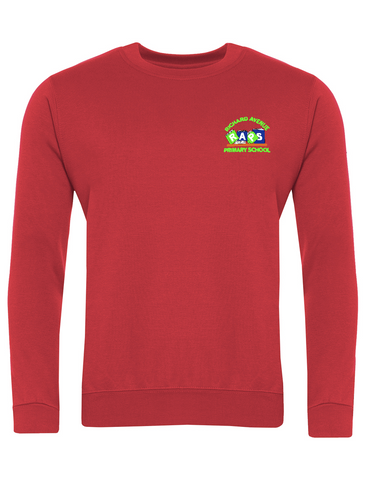 Richard Avenue Primary School Red Sweatshirt