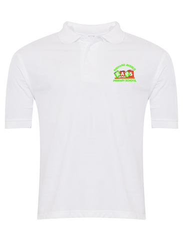 Richard Avenue Primary School White Polo